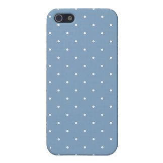 Lunar del azul de la oscuridad del estilo de los iPhone 5 fundas