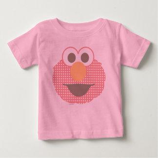 Lunar grande de la cara de Elmo del bebé Camiseta De Bebé