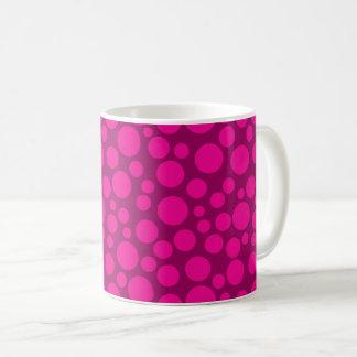 Lunar rosado taza de café