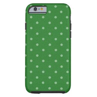 lunar verde retro funda de iPhone 6 tough