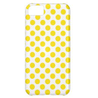 Lunares amarillos carcasa iPhone 5C