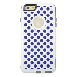 Lunares azules profundos funda otterbox para iPhone 6/6s plus