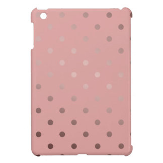 lunares color de rosa elegantes del rosa del oro