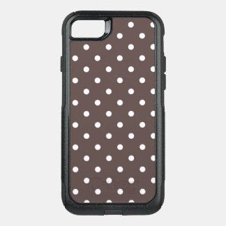Lunares del chocolate funda commuter de OtterBox para iPhone 7
