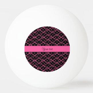 Lunares glamorosos y diamantes del brillo de las pelota de ping pong