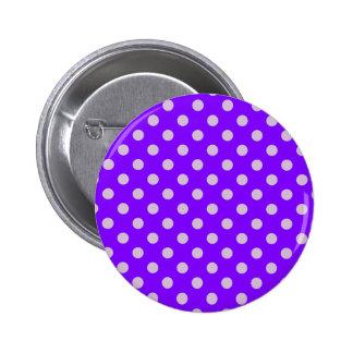 Lunares grandes - cardo en violeta pin