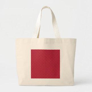 Lunares rojos bolsas