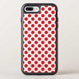 Lunares rojos funda OtterBox symmetry para iPhone 8 plus/7 plus