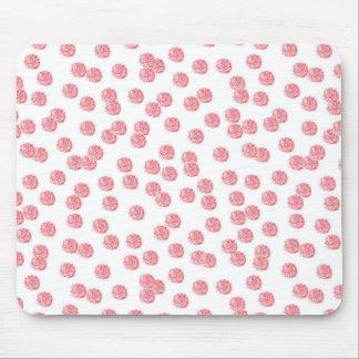 Lunares rojos Mousepad Alfombrilla De Ratón