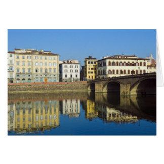 Lungarno Vespucci, alla Carraia de Ponte, Tarjetón