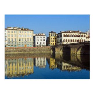 Lungarno Vespucci, alla Carraia de Ponte, Postal