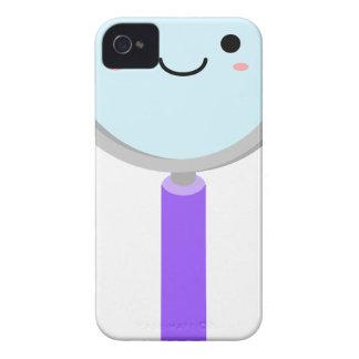 Lupa de Kawaii Funda Para iPhone 4