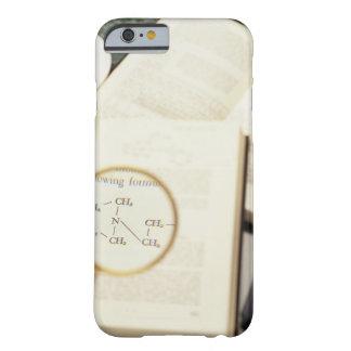 Lupa que agranda el diagrama molecular funda barely there iPhone 6