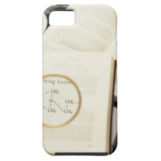 Lupa que agranda el diagrama molecular funda para iPhone SE/5/5s