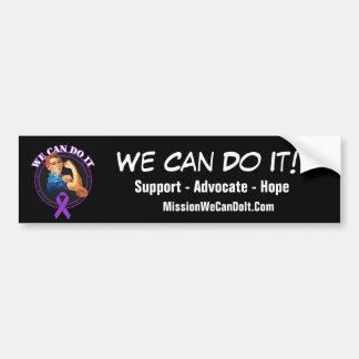 Lupus - Rosie el remachador - podemos hacerlo Pegatina Para Coche