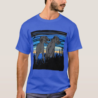 Lurchers overseeing the world camiseta