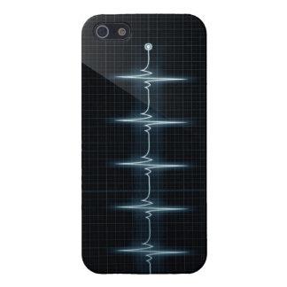 Lustre de la comprensión del caso del iPhone 5 del iPhone 5 Protectores