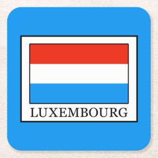 Luxemburgo Posavasos Cuadrado De Papel