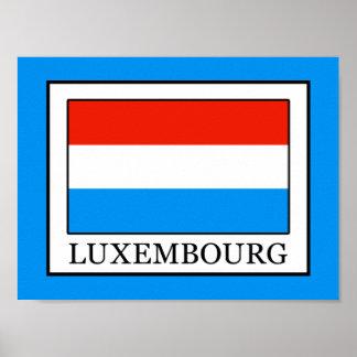 Luxemburgo Póster