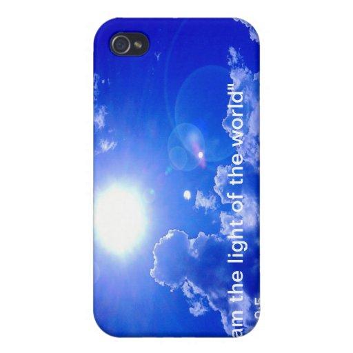 Luz de la caja del mundo iPhone4 iPhone 4 Fundas