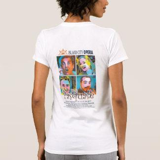 Luz de la camiseta de las mujeres de Don Pascual