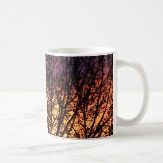 Luz de la tarde taza de café