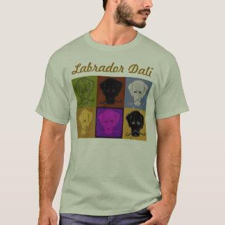 Luz de logotipo del panel de Labrador Dali 6 Camiseta