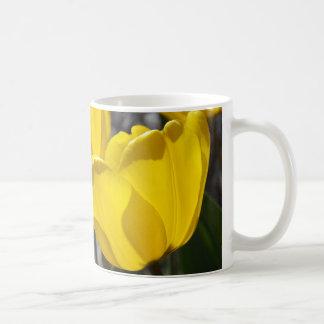 Luz de oro taza de café