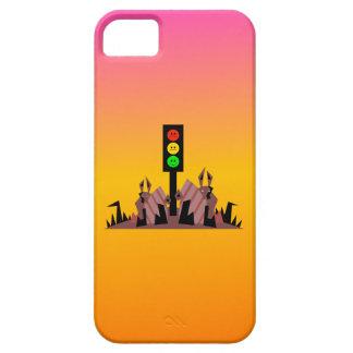 Luz de parada cambiante con los conejitos, fondo funda para iPhone SE/5/5s