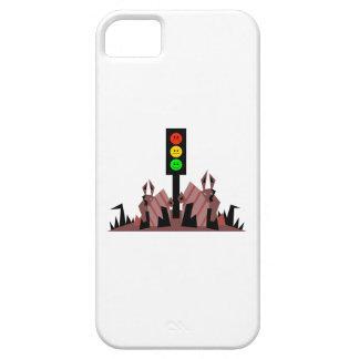 Luz de parada cambiante con los conejitos funda para iPhone SE/5/5s