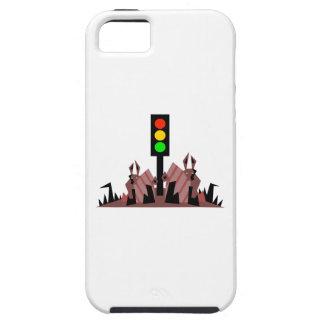 Luz de parada con los conejitos funda para iPhone SE/5/5s