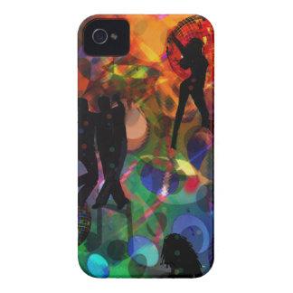 Luz del baile, fiesta de la celebración funda para iPhone 4 de Case-Mate