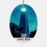 Luz del gancho de Sandy Ornamento Para Reyes Magos