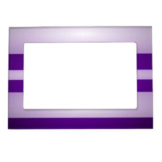 Luz púrpura marcos magneticos para fotos