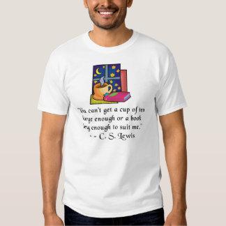 Luz T, 11 colores, YXS-6XL de la cita del té y de Camiseta