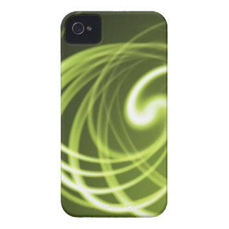 Luz verde iPhone 4 Case-Mate carcasas