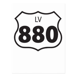 LV 880 - Carretera de Las Virgenes Postal