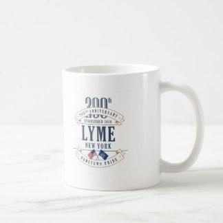 Lyme, 200a taza del aniversario de Nueva York