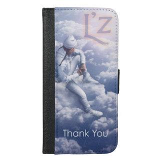 """L'z """"le agradece"""" caja de la cartera del iPhone"""