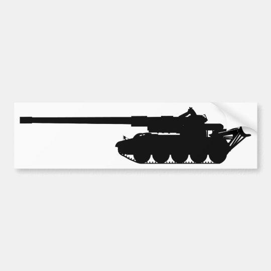 M110A2 - Silueta Pegatina Para Coche