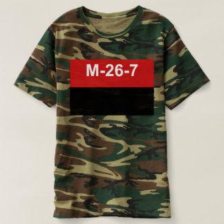 M-26-7 bandera - Bandera del Movimiento 26 de Camiseta