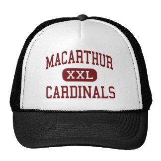 MacArthur - cardenales - High School secundaria -  Gorras