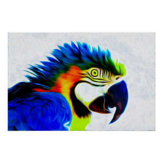 Macaw 05 - Arte de Digitaces