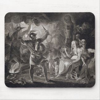 Macbeth, las tres brujas y Hecate en el acto IV, S Alfombrilla De Ratón
