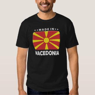 Macedonia hizo camisetas