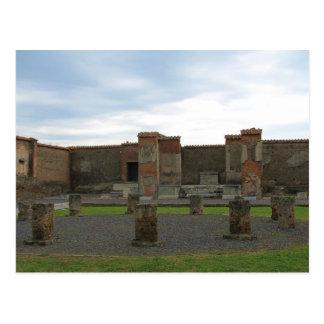 Macellum (mercados) en Pompeya antiguo Postal