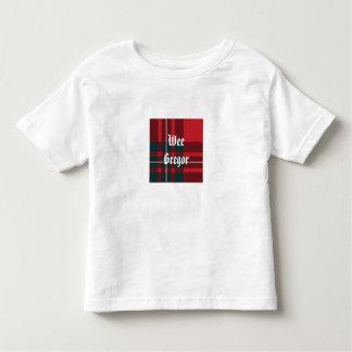 MacGregorPlaid, WeeGregor Camiseta De Niño