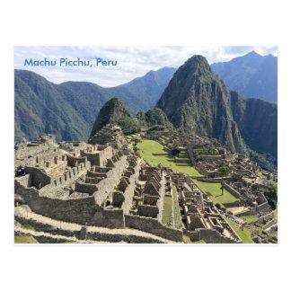 Machu Picchu, Perú Postal