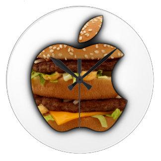 Macintosh Apple diseña el reloj de pared