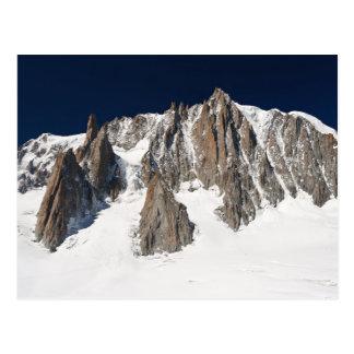 Macizo de Mont Blanc Postal